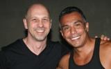 John with Tony Moran, Ciudad de México 2008